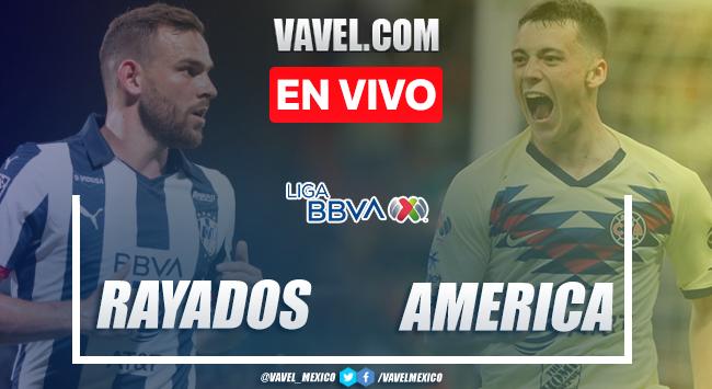 Goles y Resumen: Monterrey 0-1 América en Liga MX 2020