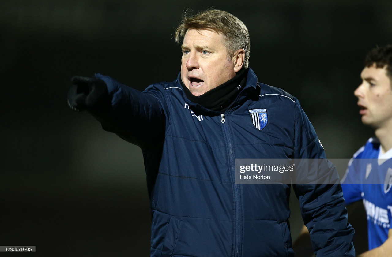 """Bring it on"": Gillingham assistant manager Paul Raynor ahead of Fleetwood trip"