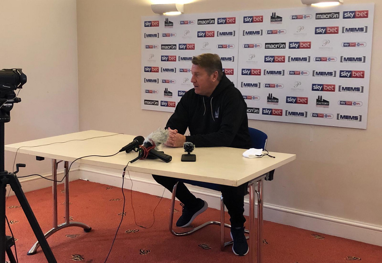 The five key quotes from Paul Raynor's pre-Charlton press conference