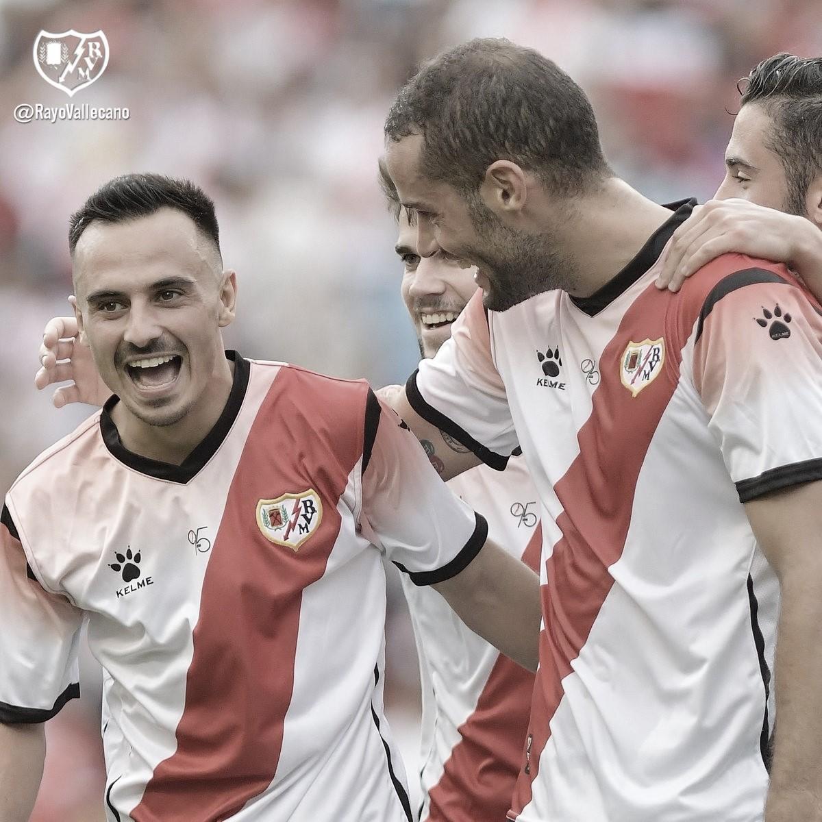 El Rayo Vallecano vuelve a alcanzar la victoria, cuatro meses después