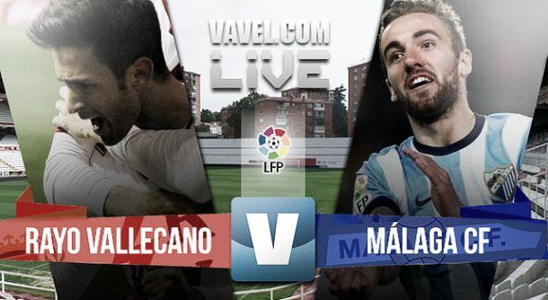 Resultado Rayo Vallecano vs Málaga en vivo (1-0)
