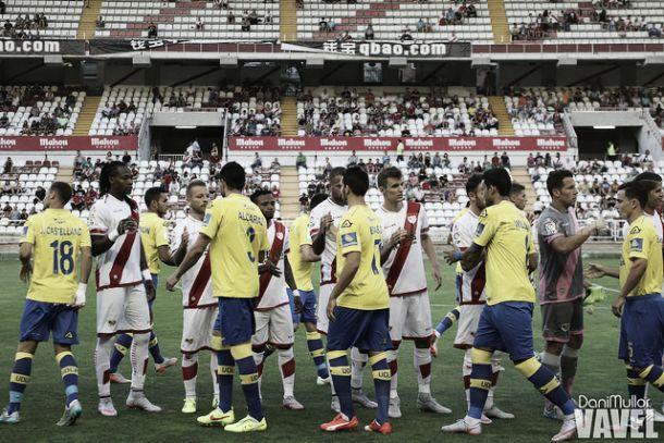 La historia está con la UD Las Palmas ante el Rayo Vallecano