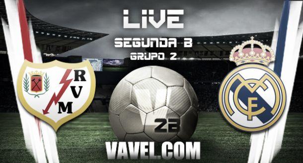 Resultado Rayo Vallecano B - Real Madrid Castilla en la Segunda División B (2-1)