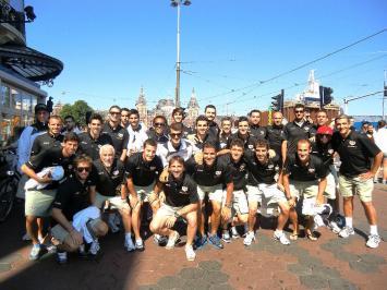 El Rayo 'aprueba' en su gira por los Países Bajos