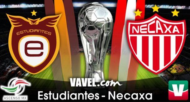 Resultado Estudiantes Tecos - Necaxa en Liguilla Ascenso MX 2014 (0-0)