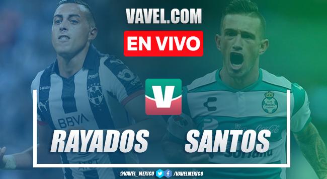 Resumen y video goles Monterrey 5-2 Santos Laguna en Liguilla Apertura 2019