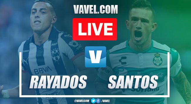 Goals and Highlights: Monterrey 2-2Santos Laguna, 2019 Liguilla MX