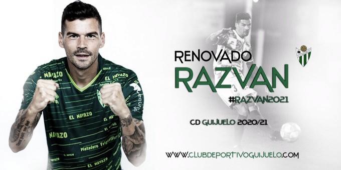 El Guijuelo anuncia la renovación de Razvan