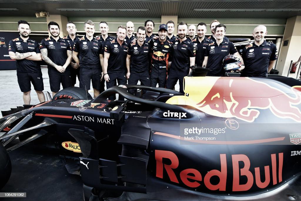 Previa Red Bull en el Gran Premio de Abu Dabi de 2018: Hasta luego Daniel