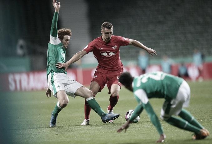 Nos acréscimos da prorrogação, Leipzig elimina Werder Bremen e vai à final da Copa da Alemanha