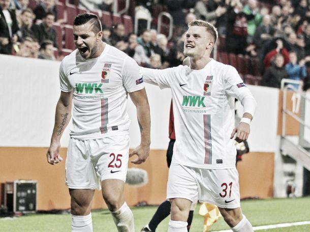 FC Augsburg 4-1 AZ Alkmaar: Bobadilla hat-trick helps to boost Bavarians' qualification hopes