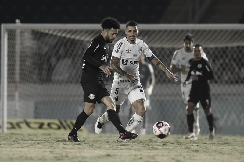 RB Bragantino e Santos empatam pelo Campeonato Paulista