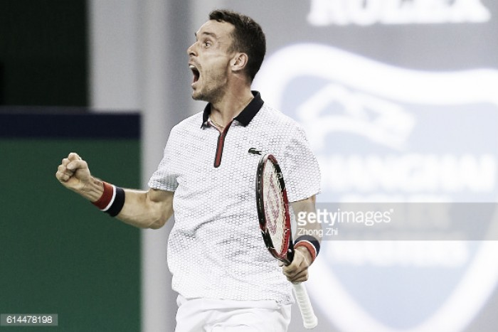 ATP Shanghai: Roberto Bautista Agut advances to semi-finals with a comfortable win