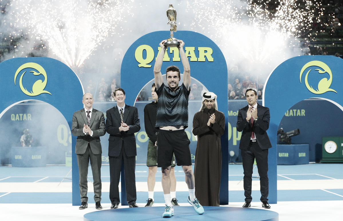 Em grande semana, Bautista Agut vence Berdych e é campeão em Doha