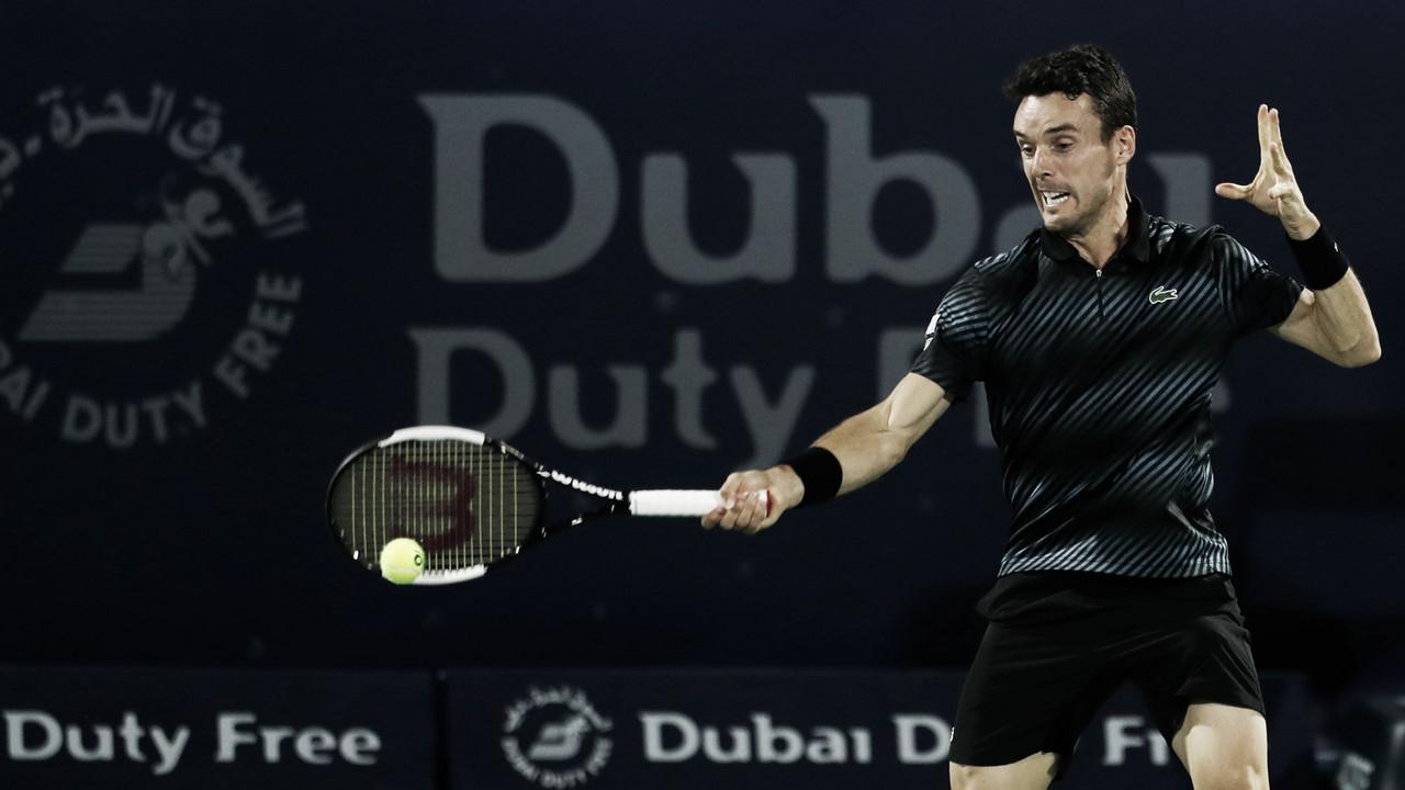 Bautista Agut inicia defesa de título em Dubai com vitória sobre Ramanathan