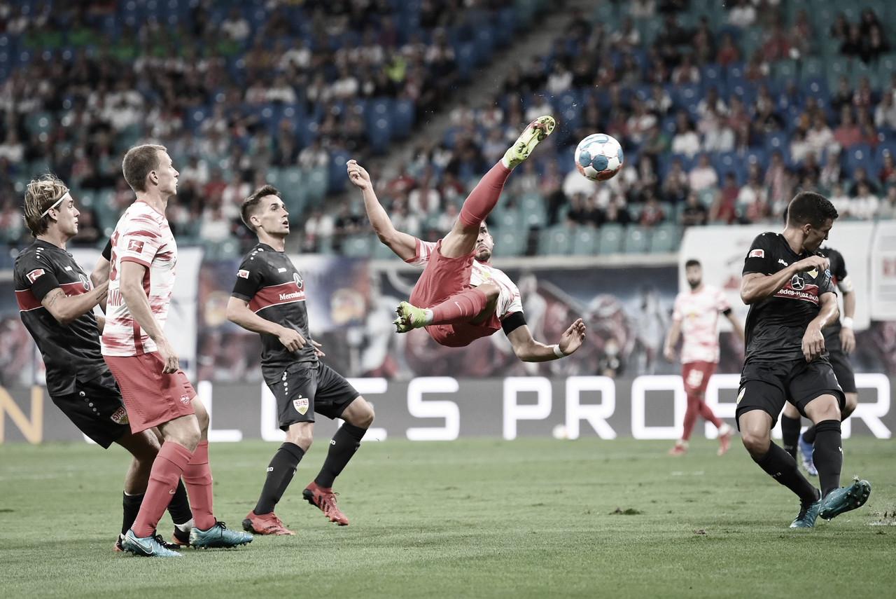 RB Leipzig se recupera de derrota na estreia da Bundesliga com goleada sobre o Stuttgart