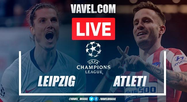 RB Leipzig x Atlético de Madrid AO VIVO: jogo online pela Champions League 2020
