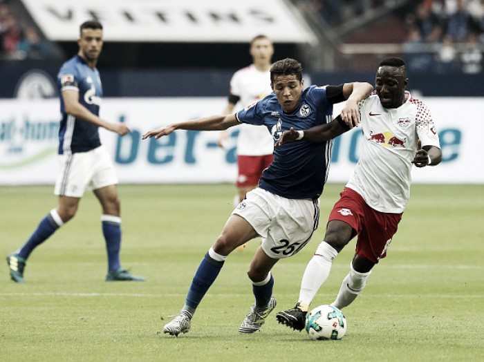 Resultado RB Leipzig x Schalke 04pela Bundesliga 2017/18 (3-1)