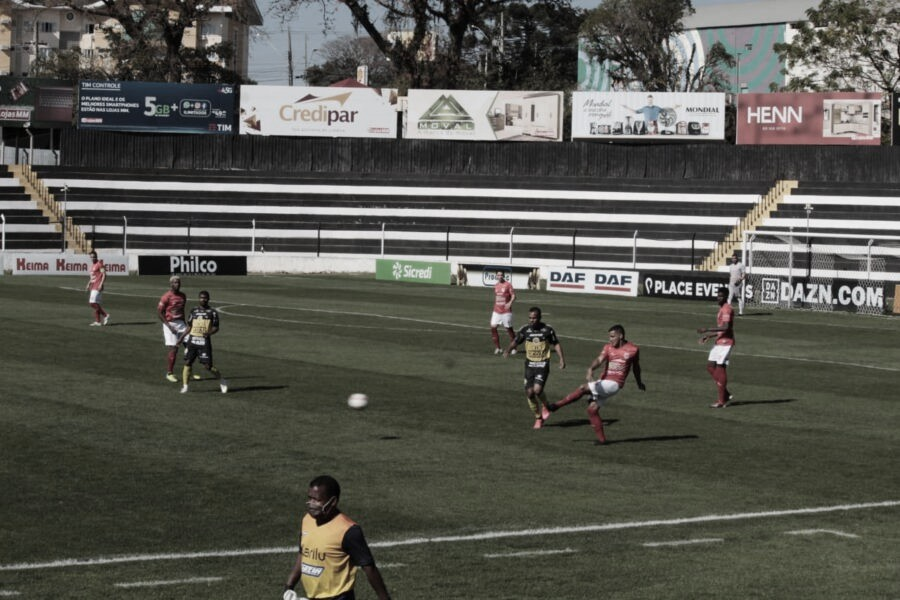 FC Cascavel vence Rio Branco com facilidade e fica perto das semis do Paranaense