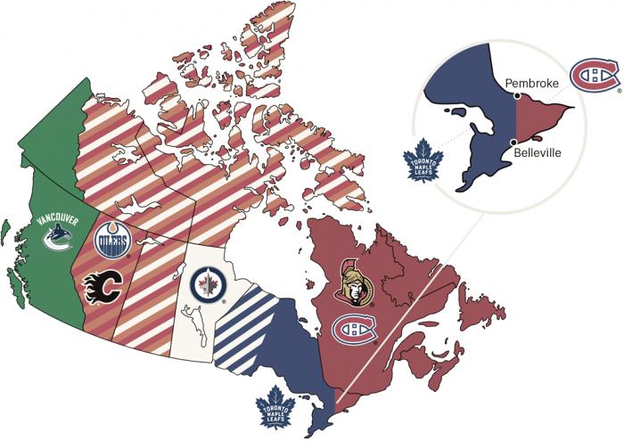 ¿Cuál es el equipo de Canadá?