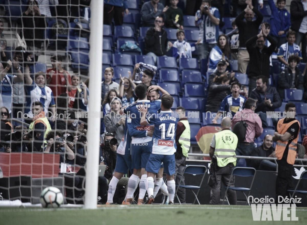 El Espanyol se despide de su afición goleando al Málaga