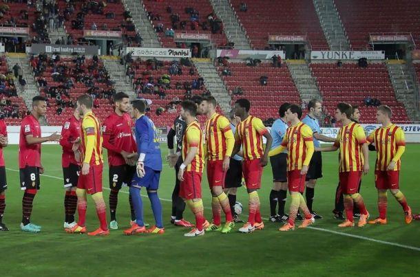 Antecedentes entre FC Barcelona B y RCD Mallorca
