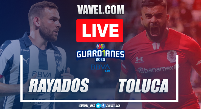Goals and Highlights: Rayados Monterrey 3-1 Toluca, 2020 Liga MX