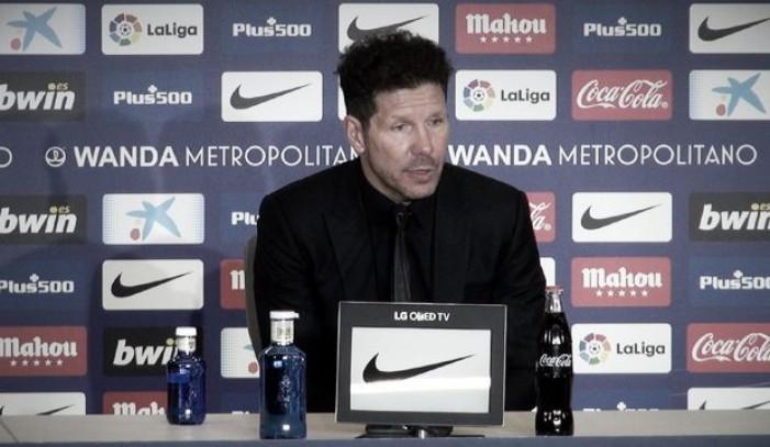 "Simeone: ""Me quedo con todo lo bueno que hizo Costa"""