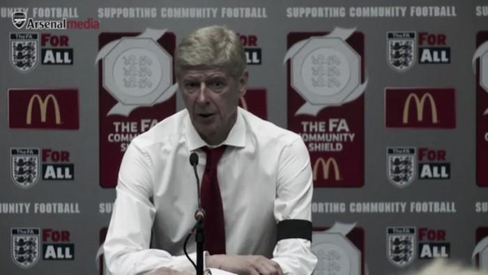 """Wenger: """"Este rendimiento es una continuidad de lo que se hizo al final de la pasada temporada"""""""