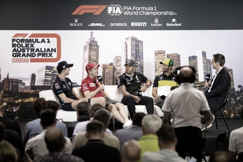 """El coronavirus acapara atención mediática en la F1: """"Es sorprendente que todos estemos sentados en esta sala"""""""