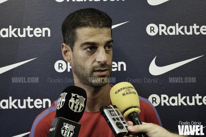"""Gerard López: """"Pedimos el apoyo a nuestra afición"""""""