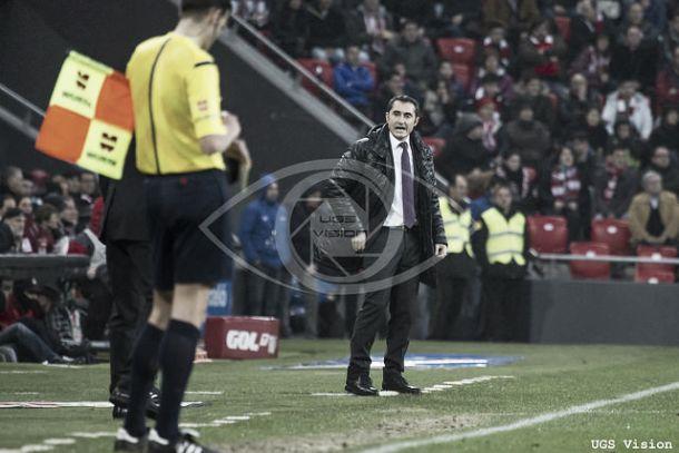 """Valverde: """"No debemos mirar el marcador hasta el último minuto"""""""