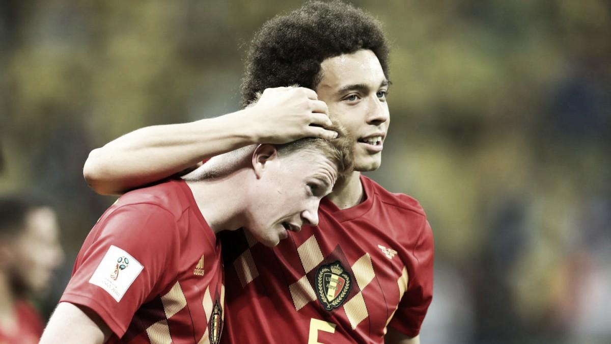 "Witsel: ""Nos quedamos solo a un paso de quizás ganar un Mundial"""
