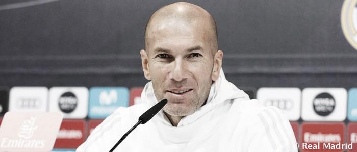 """Zidane: """"El dibujo táctico no me importa, sí la actitud"""""""
