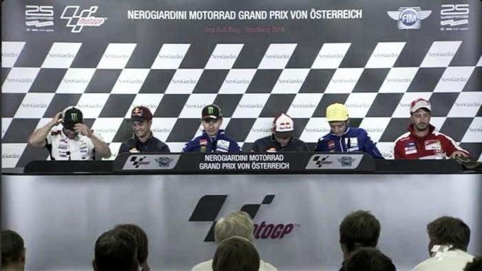 Rueda de prensa GP Austria 2016