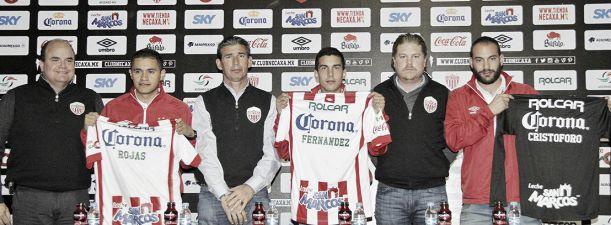 Cristóforo, Fernández y Rojas, listos para debutar