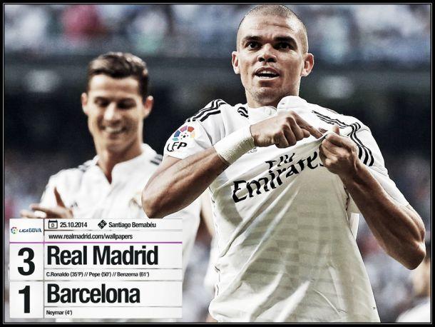 Real Madrid bate Barcelona num El Clásico com cunho português