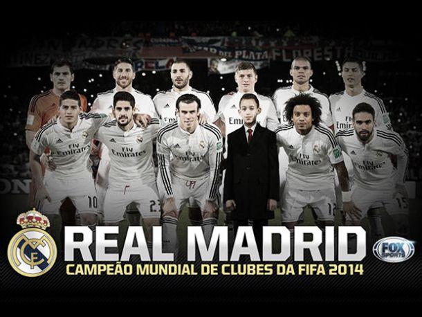Real Madrid sagra-se campeão mundial de clubes