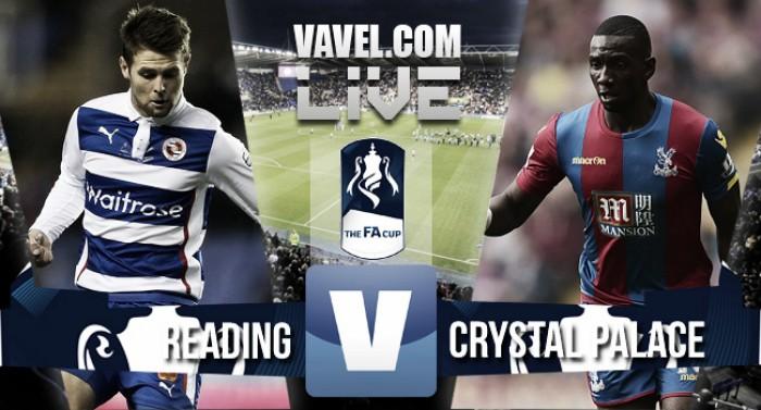 Palace edge past Reading to progress through to Wembley semi-final
