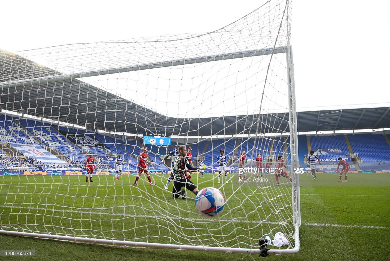 Reading 3-1 Bristol City: Rampant Reading end five game winless run and climb to third