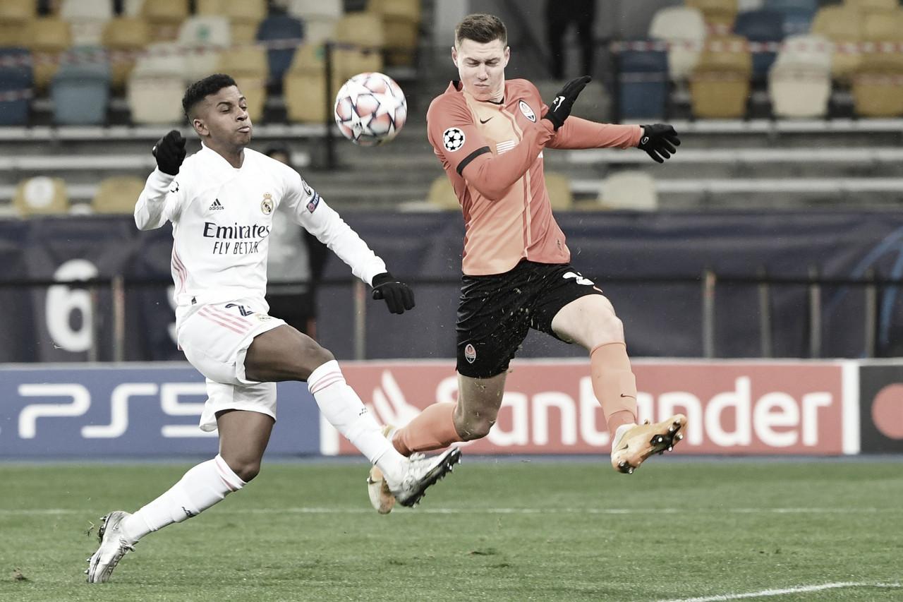 Shakhtar Donetsk 2 a 0 Real Madrid (UEFA/Divulgação)