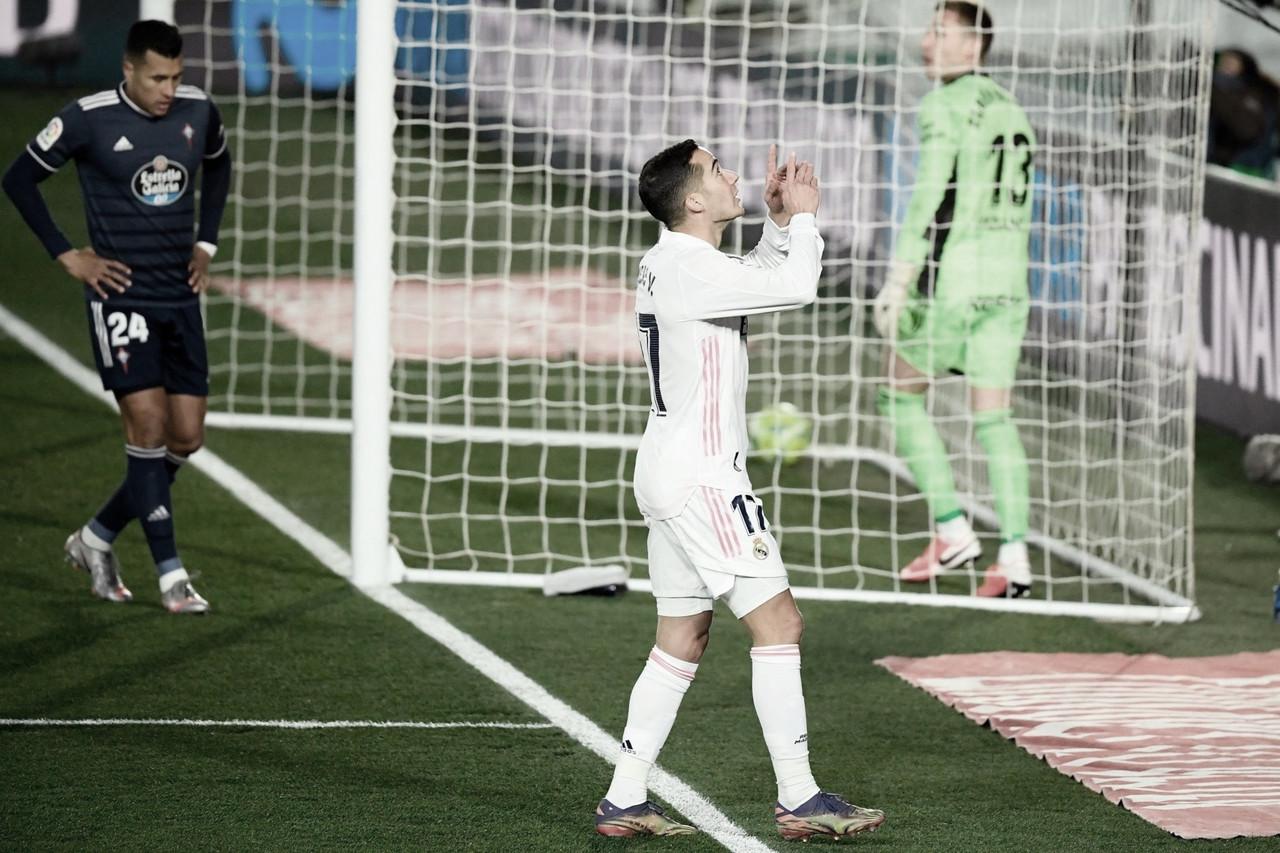 Real Madrid derrota Celta e assume liderança provisória de LaLiga
