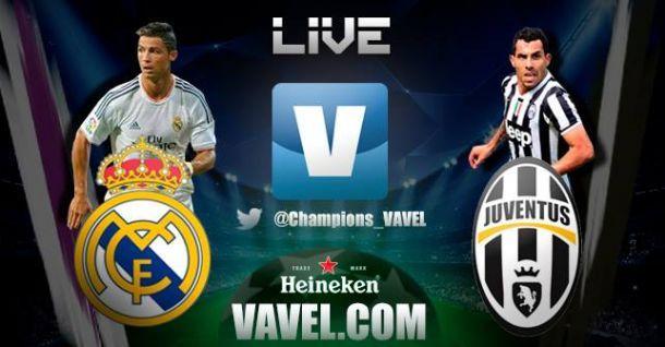 Live Real Madrid - Juventus, diretta della partita di Champions League