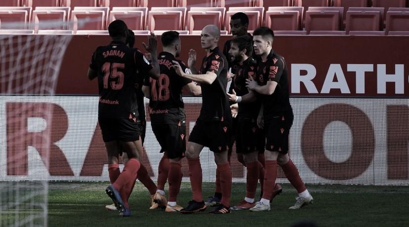 La Real Sociedad llega al ecuador de la competición con 30 puntos