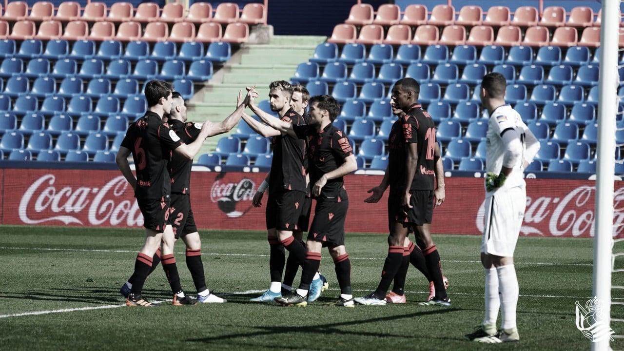 Getafe - Real Sociedad: puntuaciones de la Real Sociedad, jornada 23 de LaLiga Santander