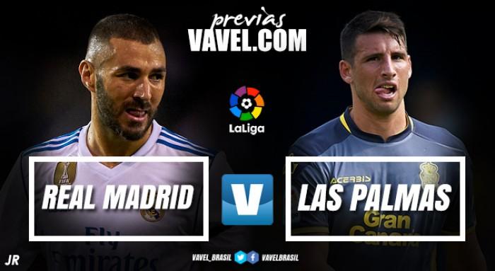 Longe do líder Barcelona, Real Madrid duela com Las Palmas para espantar crise