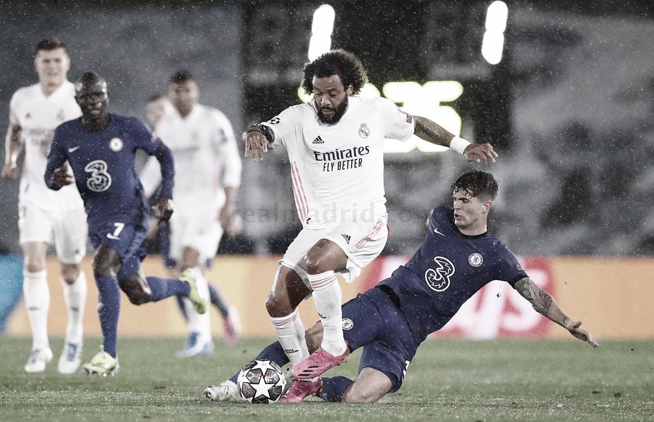 Chelsea joga melhor, mas cede empate e Courtois mantém Real Madrid vivo na Champions