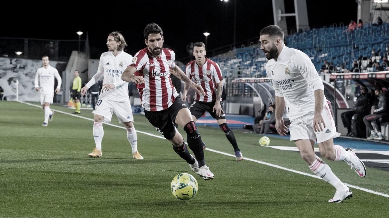 El Real Madrid asalta LaLiga ante un Athletic con 10