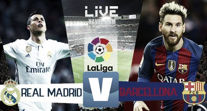 Risultato Real Madrid 2-3 Barcellona in La Liga 2017