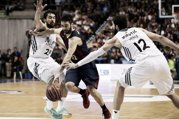Defensa y rebote permiten al Madrid empatar la serie
